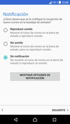 Sony Xperia X - E-mail - Configurar correo electrónico - Paso 22