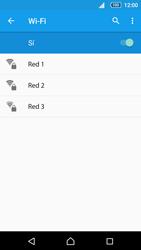 Sony Xperia Z5 - WiFi - Conectarse a una red WiFi - Paso 6