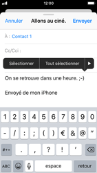 Apple iPhone 5s - iOS 11 - E-mail - Envoi d