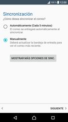 Sony Xperia E5 (F3313) - E-mail - Configurar correo electrónico - Paso 21