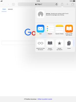 Apple Apple iPad Pro 9.7 - iOS 11 - Internet - Navigation sur internet - Étape 16