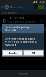 Samsung S7275 Galaxy Ace 3 - Bluetooth - connexion Bluetooth - Étape 9