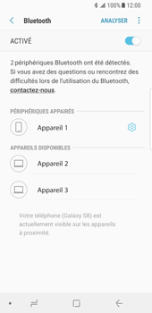 Samsung Galaxy S8 - Android Oreo - Bluetooth - connexion Bluetooth - Étape 11