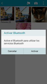 Samsung N910F Galaxy Note 4 - Bluetooth - Transferir archivos a través de Bluetooth - Paso 13