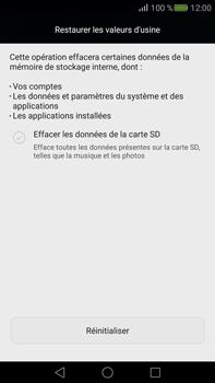 Huawei Mate S - Appareil - Réinitialisation de la configuration d