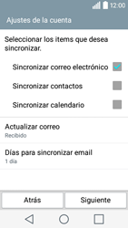 LG Leon - E-mail - Configurar Outlook.com - Paso 8