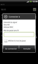 HTC S510e Desire S - Wifi - configuration manuelle - Étape 6