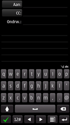 Nokia 700 - E-mail - envoyer un e-mail - Étape 5