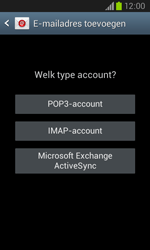 Samsung Galaxy Core (I8260) - E-mail - Account instellen (POP3 met SMTP-verificatie) - Stap 7