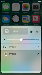 Apple iPhone SE - iOS 10 - iOS features - Control Centre - Step 10
