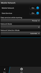 BlackBerry Z30 - Internet - Manual configuration - Step 6