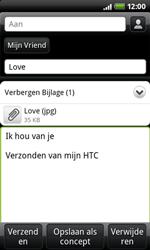 HTC A7272 Desire Z - E-mail - e-mail versturen - Stap 9