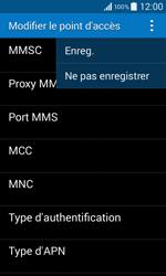 Samsung G355 Galaxy Core 2 - MMS - configuration manuelle - Étape 16