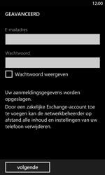 Nokia Lumia 820 LTE - E-mail - handmatig instellen - Stap 7