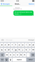 Apple iPhone 6s - Contact, Appels, SMS/MMS - Envoyer un SMS - Étape 9