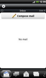 HTC S510e Desire S - E-mail - Manual configuration - Step 4
