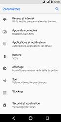 Nokia 3.1 - Internet et connexion - Désactiver la connexion Internet - Étape 4