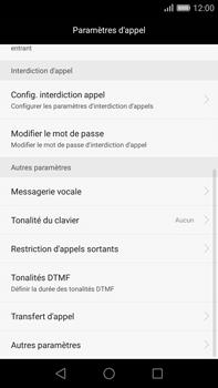 Huawei G8 - Messagerie vocale - configuration manuelle - Étape 6