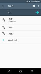 Sony Xperia XZ - Android Nougat - WiFi - Conectarse a una red WiFi - Paso 8