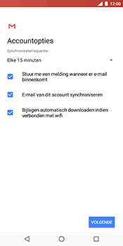 Nokia 7 Plus - E-mail - e-mail instellen (yahoo) - Stap 11