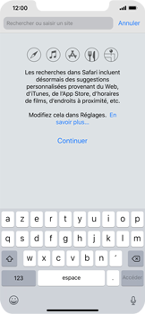 Apple iPhone XR - Internet - Navigation sur Internet - Étape 3