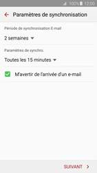 Samsung G925F Galaxy S6 Edge - E-mail - Configuration manuelle - Étape 17