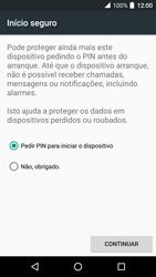 Alcatel Idol 4 VR - Segurança - Como ativar o código de bloqueio do ecrã -  7