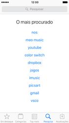 Apple iPhone SE iOS 10 - Aplicações - Como pesquisar e instalar aplicações -  10
