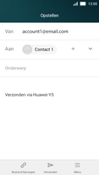 Huawei Y5 - E-mail - Bericht met attachment versturen - Stap 8