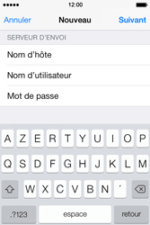 Apple iPhone 4 S iOS 7 - E-mail - Configuration manuelle - Étape 13