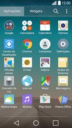 LG Y50 / LEON - Internet no telemóvel - Como ativar os dados móveis -  3