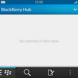 BlackBerry Q10 - Email - Sending an email message - Step 3