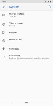Nokia 9 - Data - Maak een back-up met je account - Stap 5