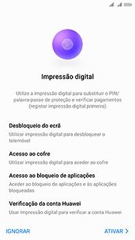 Huawei Mate 10 - Primeiros passos - Como ligar o telemóvel pela primeira vez -  20