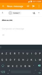 Alcatel Shine Lite - E-mail - Envoi d