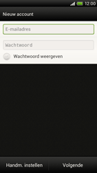 HTC S720e One X - E-mail - Handmatig instellen - Stap 7