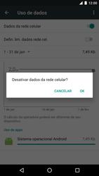 LG Google Nexus 5X - Rede móvel - Como ativar e desativar uma rede de dados - Etapa 6
