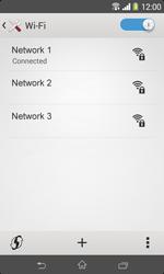 Sony D2005 Xperia E1 - WiFi and Bluetooth - Manual configuration - Step 8