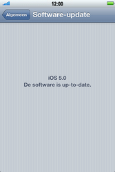 Apple iPhone 4S - Software - installeer firmware update - Stap 5