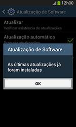 Samsung Galaxy Grand Neo - Funções básicas - Como atualizar o software do seu aparelho - Etapa 9