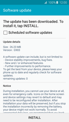 Samsung G903F Galaxy S5 Neo - Network - Installing software updates - Step 8