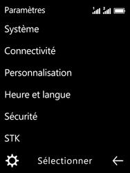 Nokia 3310 - Premiers pas - Configurer l