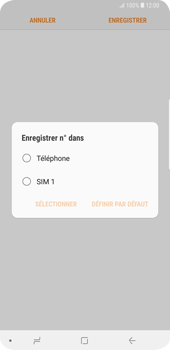 Samsung Galaxy S9 Plus - Contact, Appels, SMS/MMS - Ajouter un contact - Étape 5