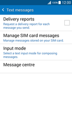 Samsung G530FZ Galaxy Grand Prime - SMS - Manual configuration - Step 7