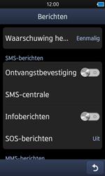 Samsung S8600 Wave 3 - SMS - handmatig instellen - Stap 5