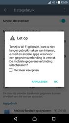 Sony Xperia XZ (F8331) - Internet - Mobiele data uitschakelen - Stap 6