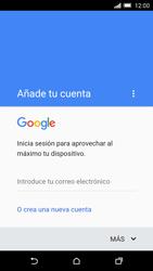 HTC One M9 - E-mail - Configurar Gmail - Paso 9