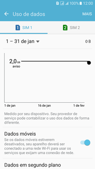 Samsung Galaxy On 7 - Internet (APN) - Como configurar a internet do seu aparelho (APN Nextel) - Etapa 6