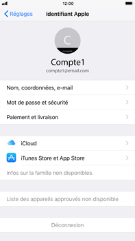 Apple Apple iPhone 6s Plus - iOS 11 - Device maintenance - Back up - Étape 9