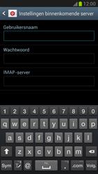 Samsung N7100 Galaxy Note II - E-mail - Account instellen (IMAP met SMTP-verificatie) - Stap 6